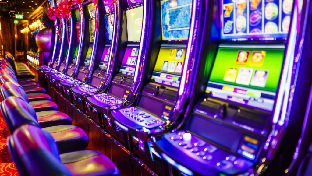 How players gravitate towards slot games
